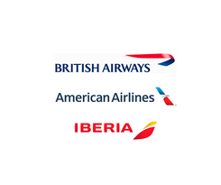 British Airways, American Airlines, Iberia